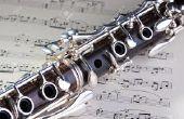 Comment accorder une clarinette