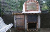 Comment construire un bois portugais ont tiré brique four à Pizza