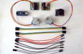 Arduino Nano et Visuino: 2 moteurs pas à pas avec Joystick de contrôle