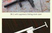 Comment faire le papier de SR-2 pistolet qui tire