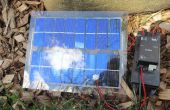 Le panneau solaire de Nicaragua