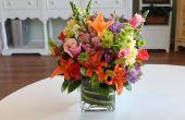 Des Bouquets bricolage lié à la main :