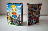 Bart Simpson carnets de trucs recyclé