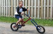 Vélo chopper enfants pétard atomique du Zombie