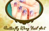 Aile de papillon Nail Art Design
