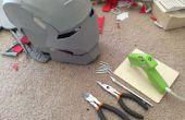Pliage, façonnage et renforcement mousse Armor (méthode bon marché et facile)