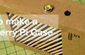 Modélisation d'un cas de Raspberry Pi - de carton