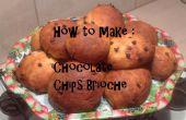 Comment faire des Brioches de copeaux de chocolat