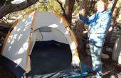 Comment mettre en place une tente dôme