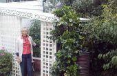 Treillis + chambre serre-abri-playhouse-jardin « Vivak ».