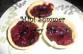 Mini été Berry Pie