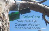 Faire un solaire Wifi 3g Webcam caméra extérieure d'un vieux téléphone Android !