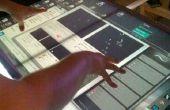 Créer votre première Table multi-touch