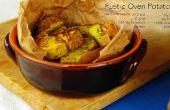 Frites de patate douce et rôti au four rustique de pommes de terre (GF)