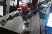 Faire un robot humanoïde de low-cost en matériau de canalisation PVC (upgrade)