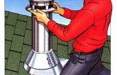 Comment installer un Kit de cheminée Metal
