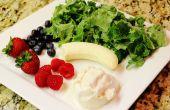 Smoothie de Kale gratuit Berry vanille sans gluten