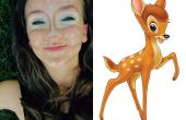 Maquillage de Bambi (Contour de Clown)