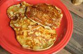 Comment faire Banana Pancakes (seulement 3 ingrédients)