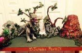 Table de jeux de dinosaure « Parc JURALEX »