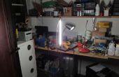 Abat-jour / réchauffeur de vieille imprimante laser
