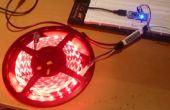 Contrôleur de bande de LED w / LED Amp + Arduino