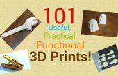 Impressions 3d 101 utiles, pratiques et fonctionnelles !