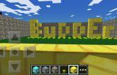 Minecraft Glitch (œuvres pour Pe, Xbox 360 et Pc)