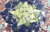Recycler des céramiques en pierres de progression impressionnantes mosaïques