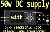 50W alimentation avec transformateur lampe halogène