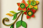 Magnifique 3D piquants fleurs et feuilles à partir de zéro !