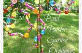 Buster jardin ornement de perles