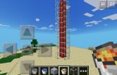 Chute de lave Minecraft