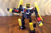 Transformateur de LEGO : Huffer ? Une guerre pour Cybertron Constructicon ? Vous décidez !
