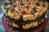 Beurre d'arachide & bretzel Ice Cream Cake