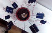 Modèle de Fibonacci de cellules solaires