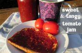 Confiture de tomates sucrée & piquante