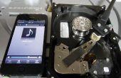 Utiliser un disque dur pour couper un enregistrement