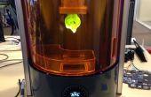 Couche de hauteur, vitesse et qualité sur l'imprimante 3D Ember