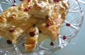 Facile Brie au four avec des canneberges séchées