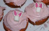 Comment faire des Cupcakes de lapin de Pâques (à partir de guimauves)