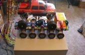Knex 10 tracteurs sur chenilles (Instructable)