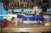120' bazooka alimenté Longshot