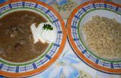 Soupe de foie hongrois (Majleves)