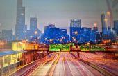 Lumières et une peinture de l'urbanité