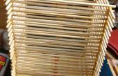 Boîte faite de baguettes en bambou