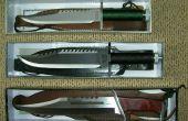 Comment faire Knifes, couteau de gaines, des fouets, des lances et beaucoup beaucoup plus