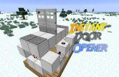 Minecraft : Ouvreur de porte instantané