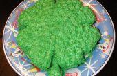 Gâteau de Shamrock : goûter l'arc-en-ciel