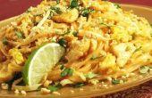 Pad Thai nouilles au poulet